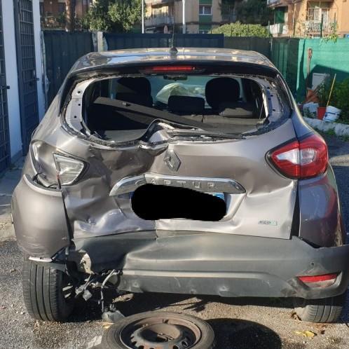 Renault Captur 1.5 dci sinistrata
