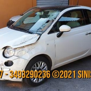 FIAT 500 LOUNGE 1.2 BENZINA SINISTRATA